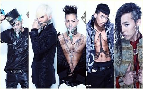 my fave korean boyband: BIG BANG
